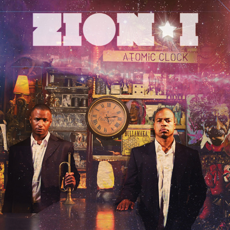 "Pre-Order Zion I ""Atomic Clock"" Download 5 singles today. 19 10 2010"