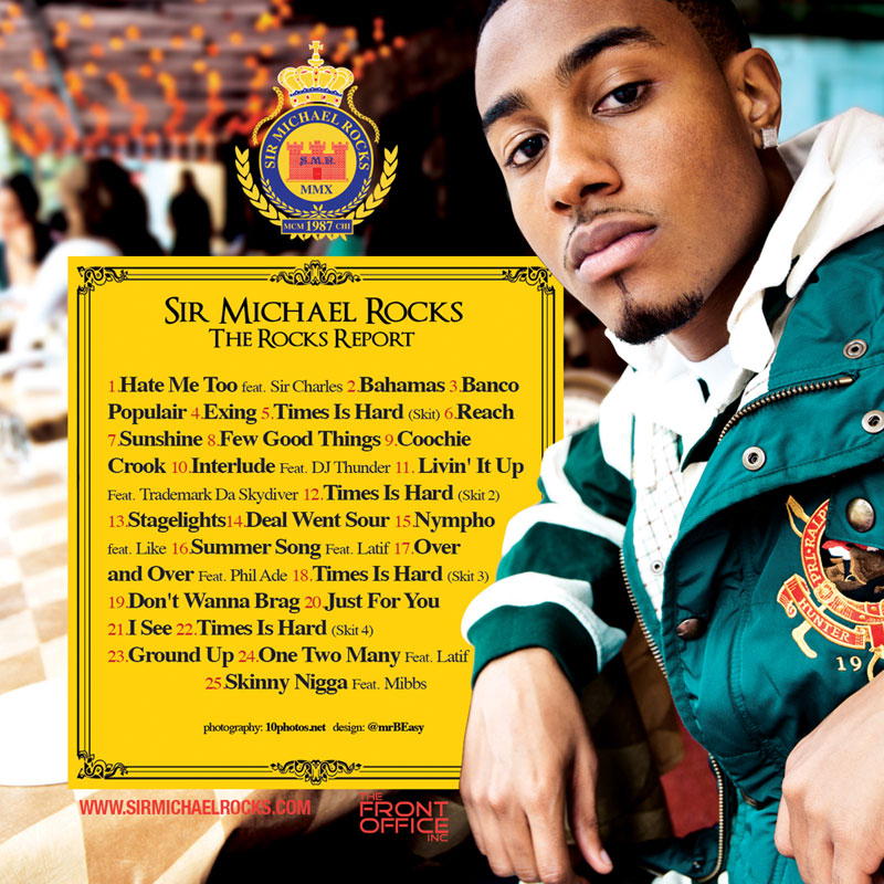 "Sir Michael Rocks (Cool Kids) ""The Rocks Report"""