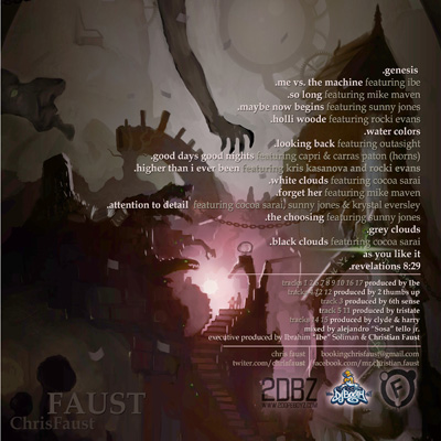 Chris Faust - Faust LP