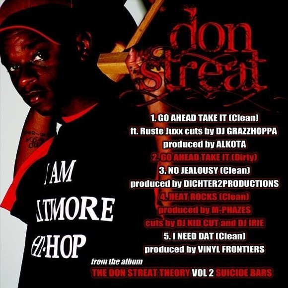 Don Streat - Go Ahead and Take It **EP**