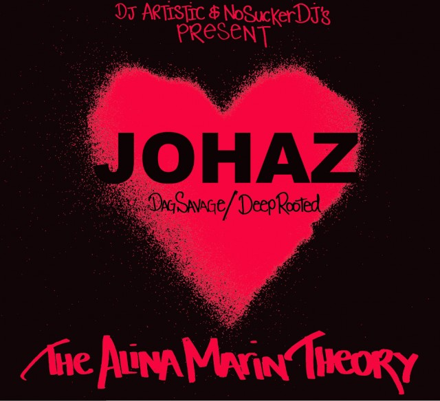 Johaz (Dag Savage/Deep Rooted) - The Alina Marin Theory FreEP