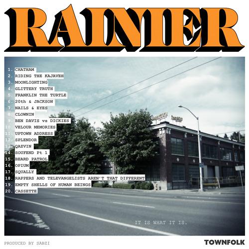 Sabzi - Rainier (Beat Tape)