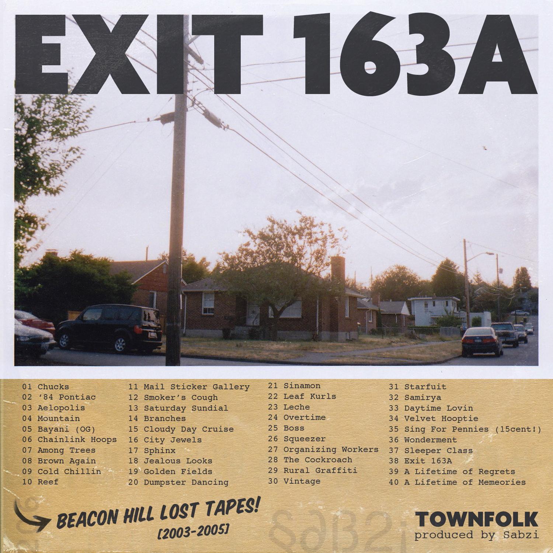 Sabzi - EXIT 163A (Beat tape)