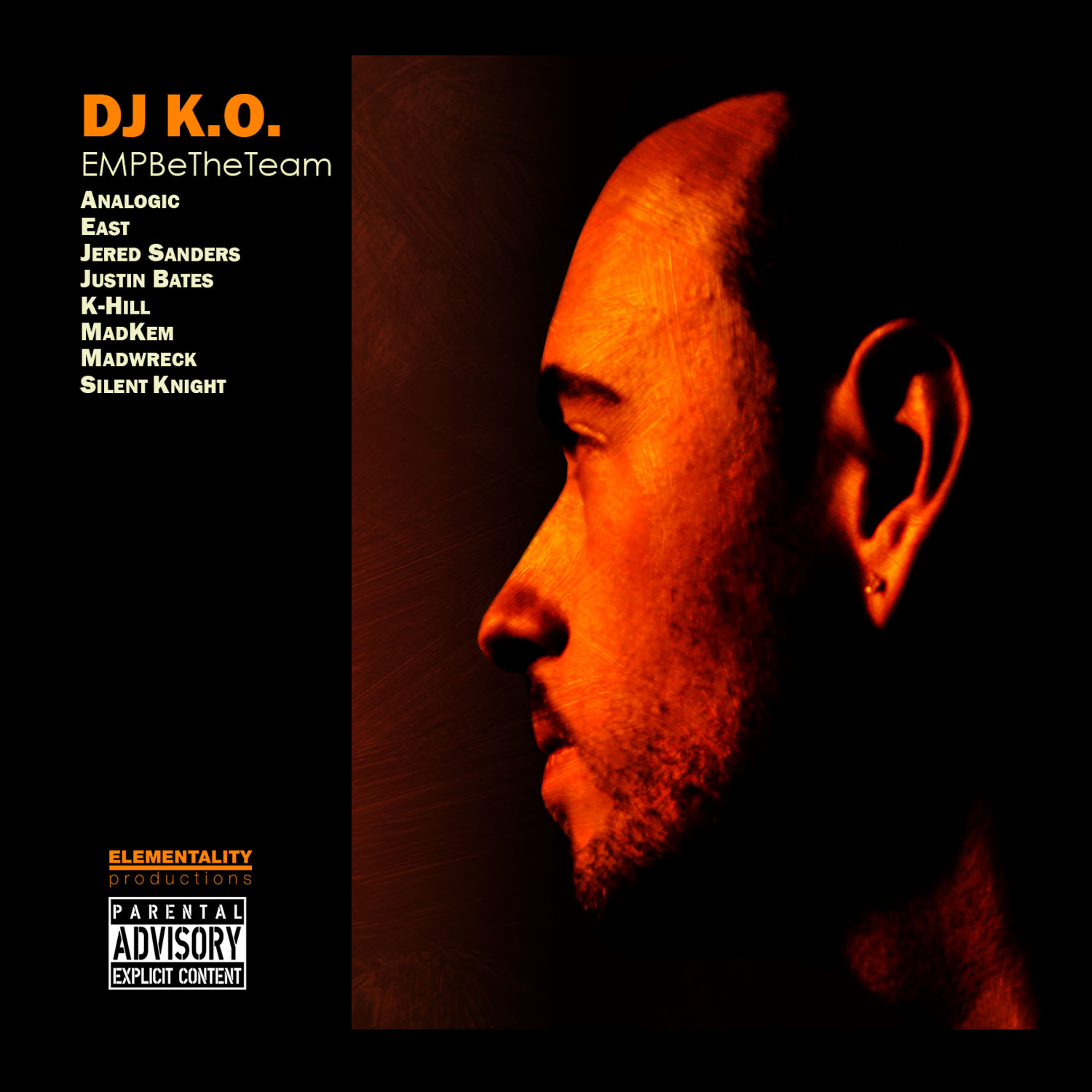 DJ K.O. - Stand Up! ft. Silent Knight, Jered Sanders, Justin Bates, K-Hill, East & MadKem [audio]