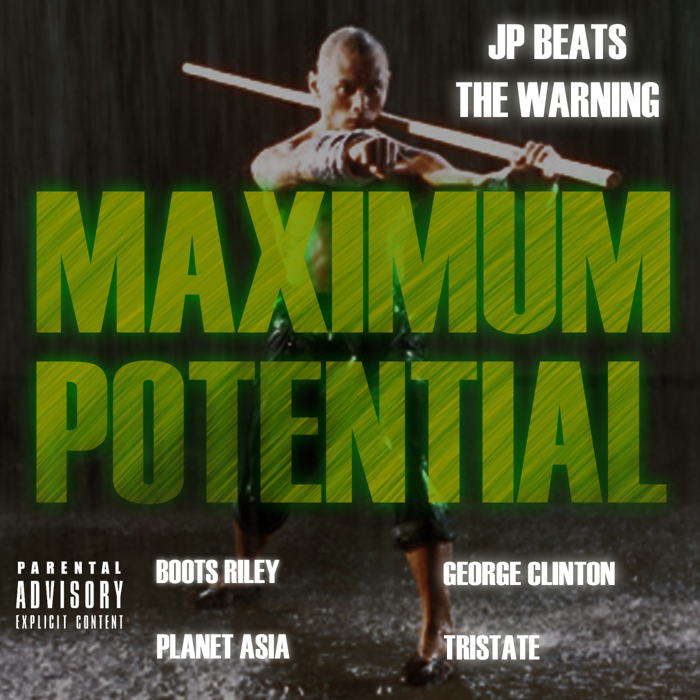 """JP Beats """"Maximum Potential"""" ft. George Clinton, Planet Asia , Boots Riley (The Coup) & Tri-State [audio]"""