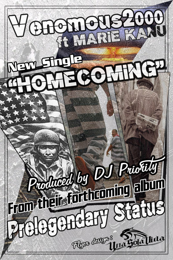 Venomous2000 & DJ Priority - Homecoming ft. Marie Kanu [audio]