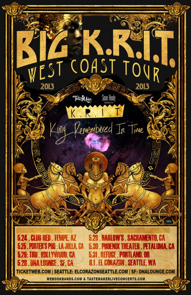 Big K.R.I.T. - King Remembered In Time (Album) + Tour Dates