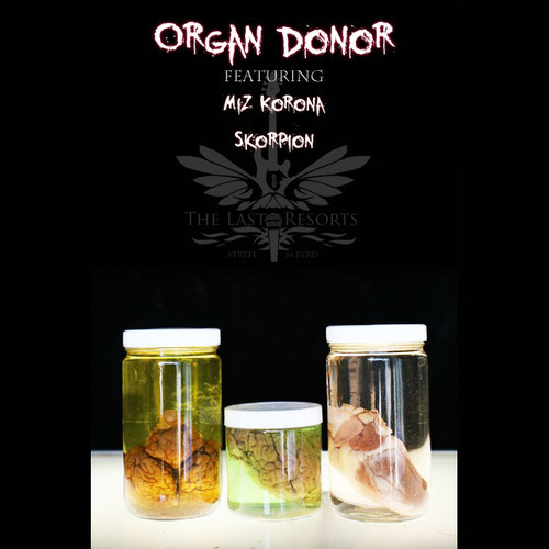 "Stryfe and Marc Byrd ""Organ Donor"" ft. Miz Korona & Skorpion [video + audio]"