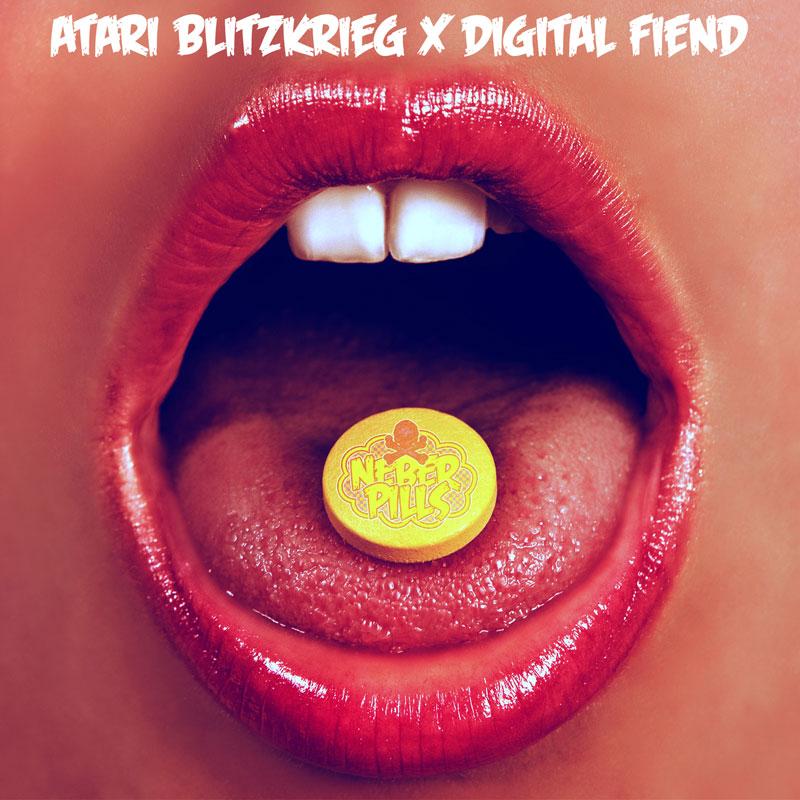 Atari Blitzkrieg x Digital Fiend - Neber Pills