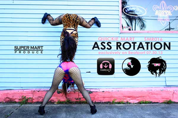 Quickie Mart - Ass Rotation (Original Mix) [mp3]