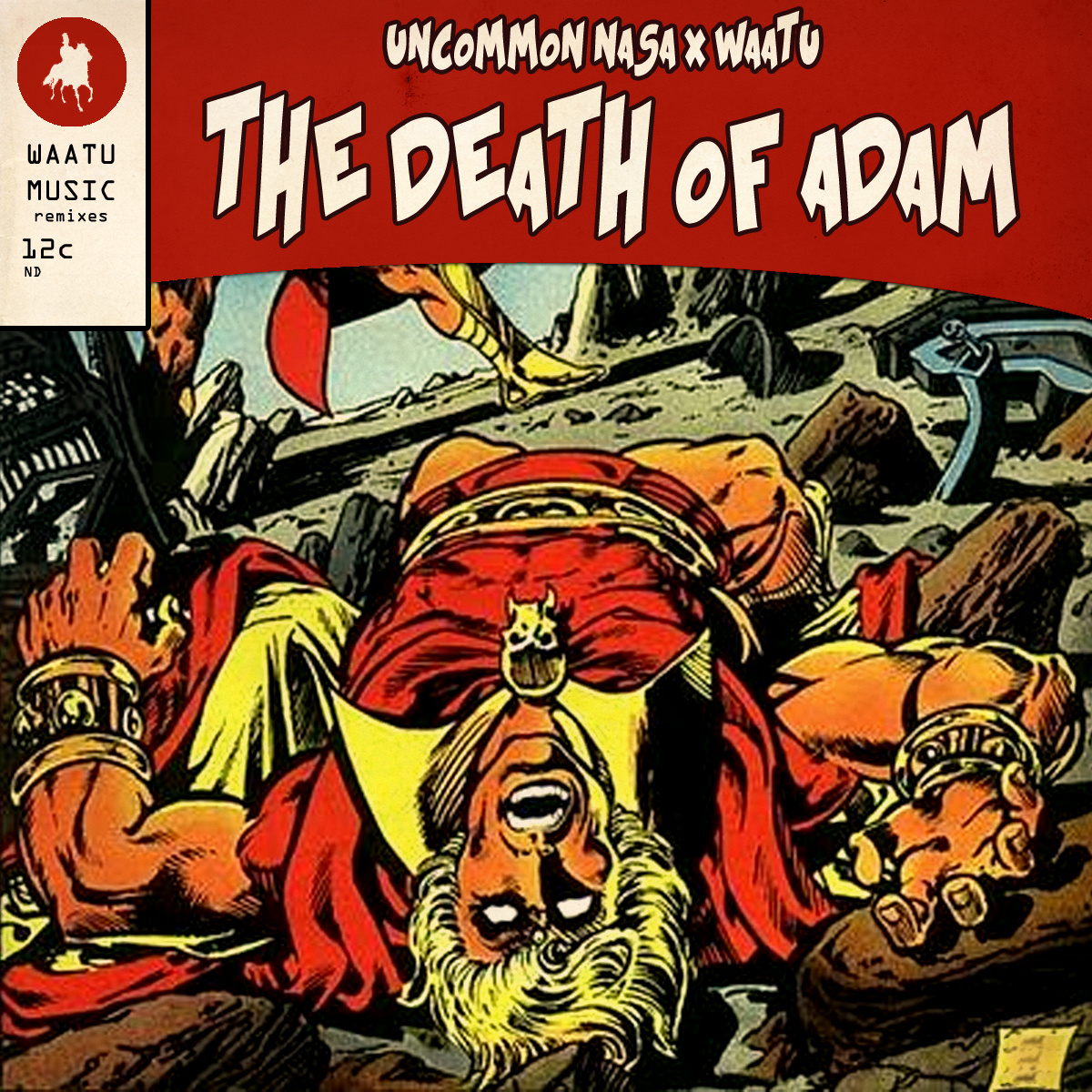 Uncommon Nasa x Waatu - Death of ADAM [FreEP] (feat. Prince Po, Elucid & Subtitle)