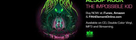 Aesop Rock - The Impossible Kid (Full Album Stream) [video]