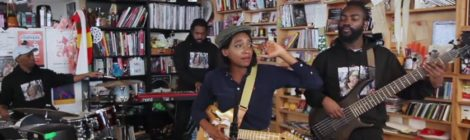 Little Simz on Tiny Desk Concert Series [video]