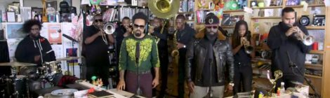 The Roots with Bilal perform on NPR's Tiny Desk Concert [video]