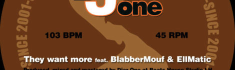 """Djar One """"They want more"""" feat. BlabberMouf & EllMatic b/w """"Cradle to the Grave"""" feat. Napoleon Da Legend [audio]"""