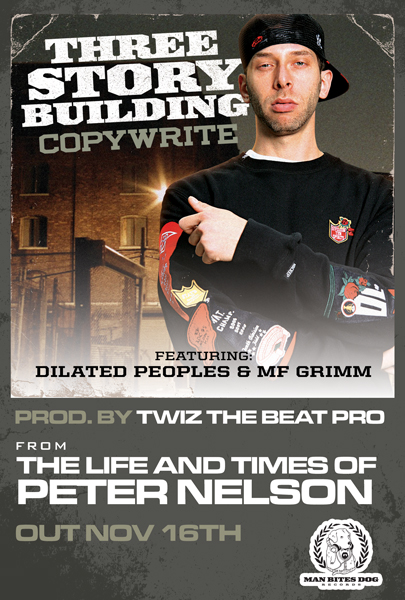 """Copywrite """"Three Story Building"""" ft. Dilated Peoples & MF Grimm **mp3**"""