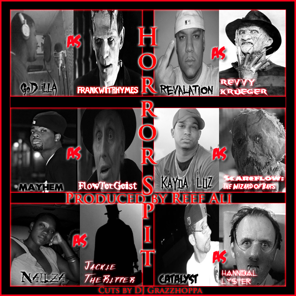 Horror Spit ft. GoD iLLa, Revalation, Catalyst, Kayda Luz, Nailza & Mayhem **mp3**