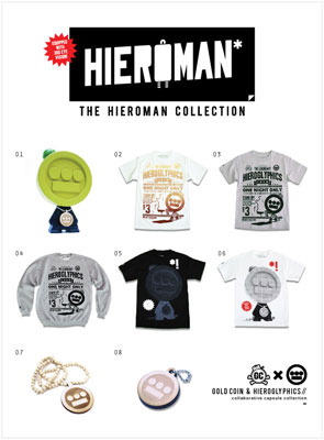 Hieroglyphics + GOLD COIN® Capsule Collection