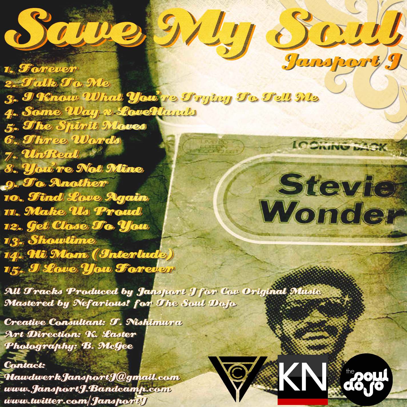 Jansport J: Save My Soul Instrumental Cover Art + Track Listing + Intro **mp3**