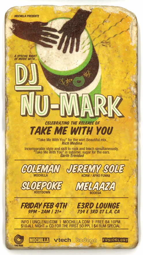 """VTech Presents The Strange and Wonderful World of DJ Nu-Mark """"Take Me With You"""""""