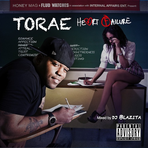 Torae: Heart Failure – Cover & Tracklist