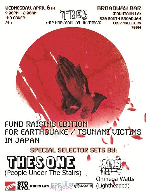 April 6th TRES Fund Raising Edition