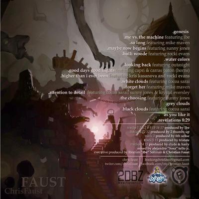 Chris Faust - Faust LP