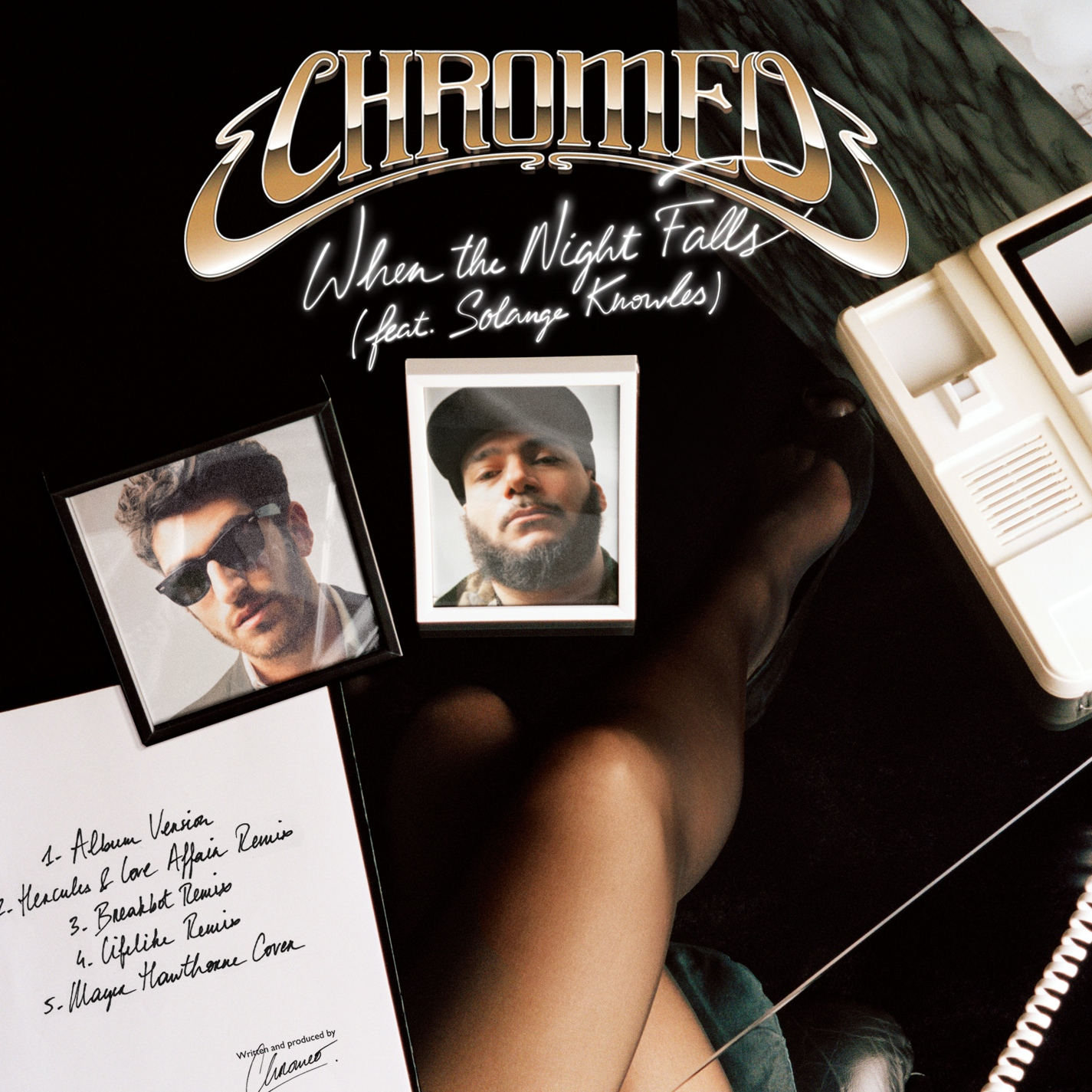 Chromeo - When The Night Falls (Mayer Hawthorne Cover) **Audio**