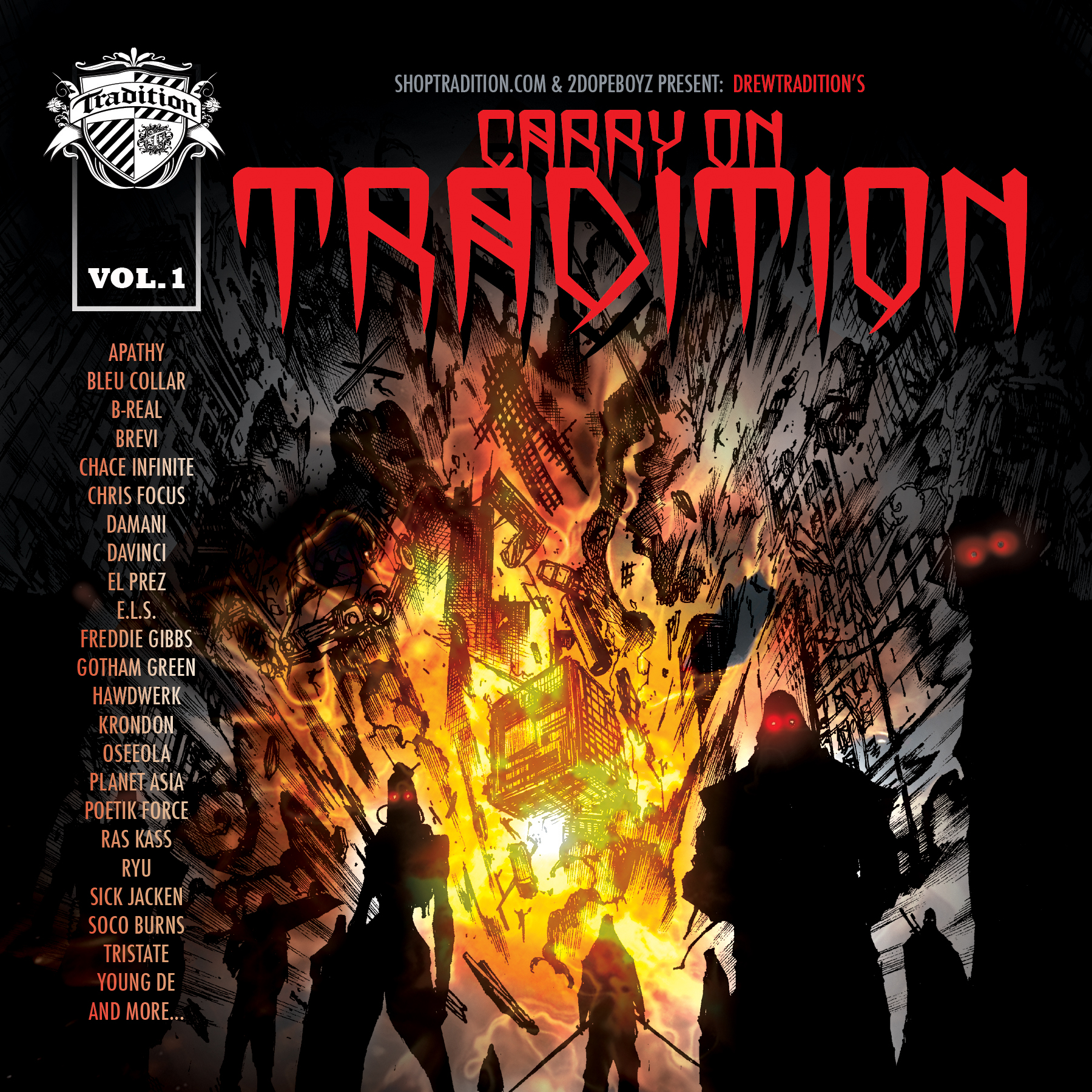 Drewtradition - If I Died Today ft. B-Real, Apathy & Young De **mp3**