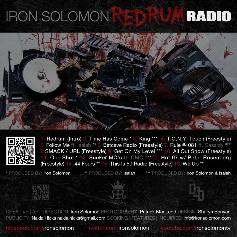 """Iron Solomon """"Redrum Radio"""" (Project)"""