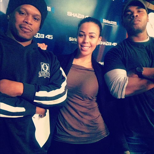 "Bishop Lamont ""Five Fingers Of Death"" Freestyle on Shade 45 **mp3**"