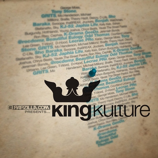 Beautiful Eulogy (Braille, Odd Thomas, Courtland Urbano) - King Kulture ft. Theory Hazit & Lee Green **Audio + Video**