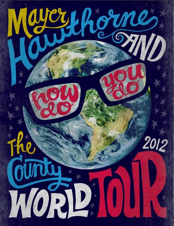 Mayer Hawthorne: How Do You Do Spring Tour 2012