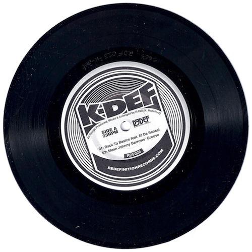 """Damu The Fudgemunk """"Soul Brother #3"""" + K-Def - 7"""" EP ft. El Da Sensei (Snippet) **Audio**"""