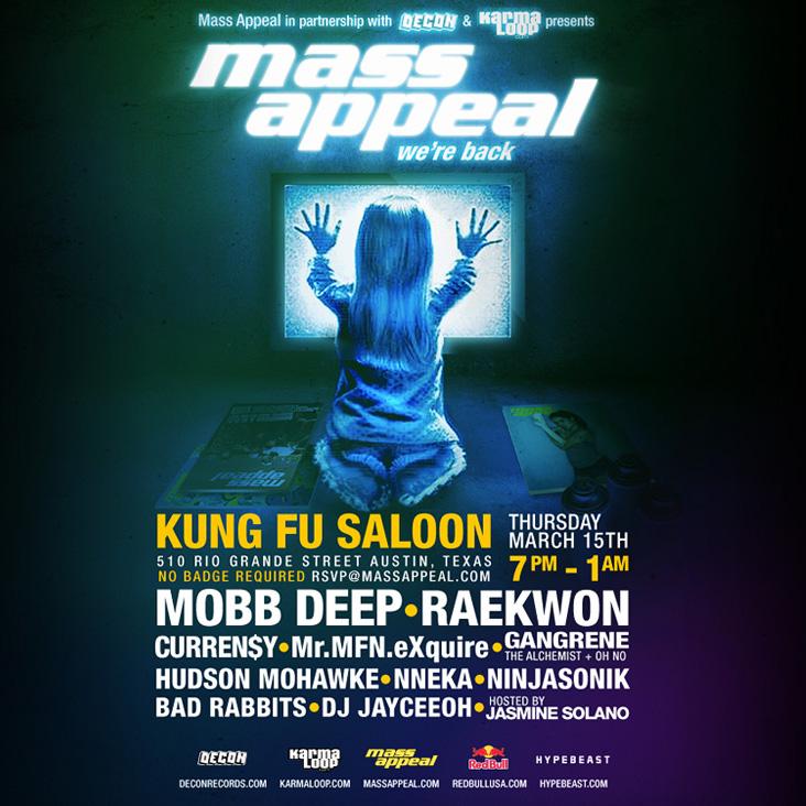 Decon, Karmaloop & Mick Boogie present...  Mass Appeal: SXSW 2012 Mixtape