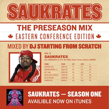 Saukrates - The Preseason Mix