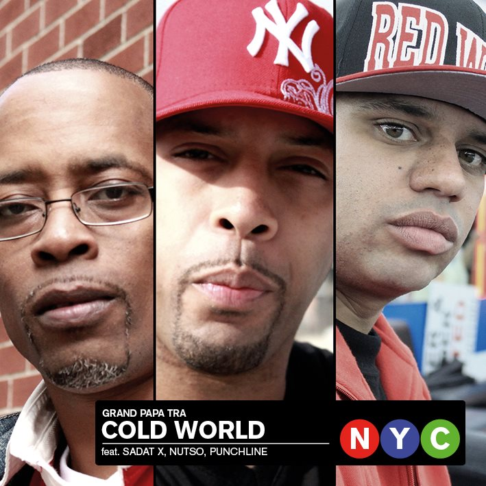 Sadat-X x Nutso x Punchline - Cold World (prod by Grand Papa Tra) **Video**
