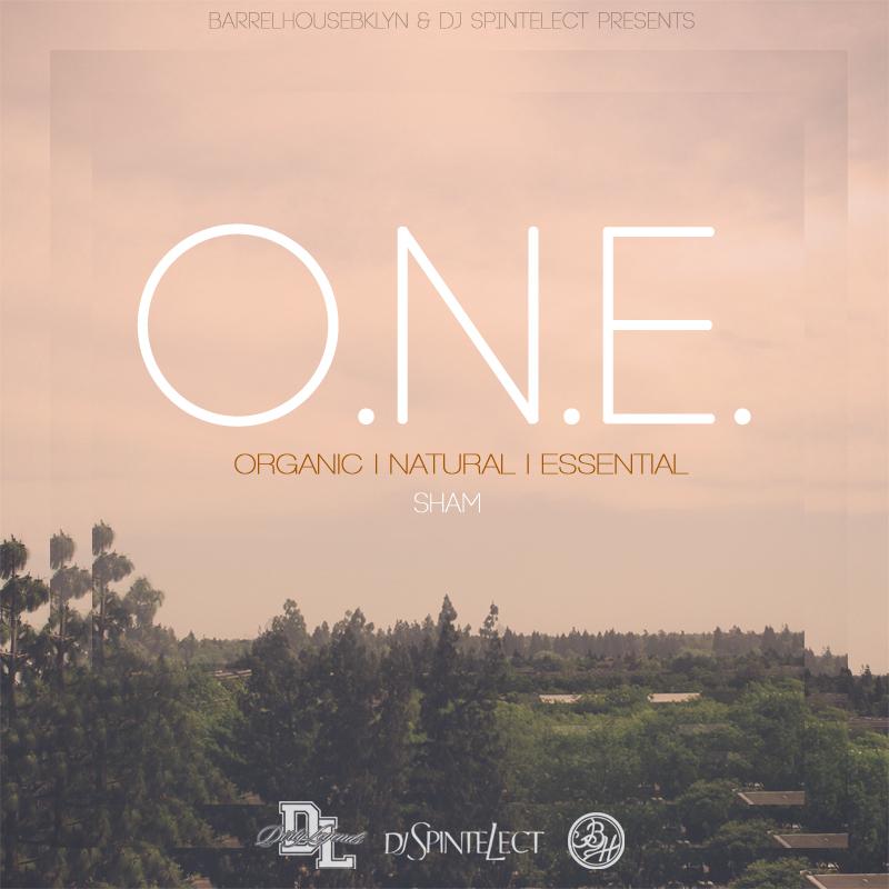 Sham - O.N.E. (Organic.Natural.Essential) EP