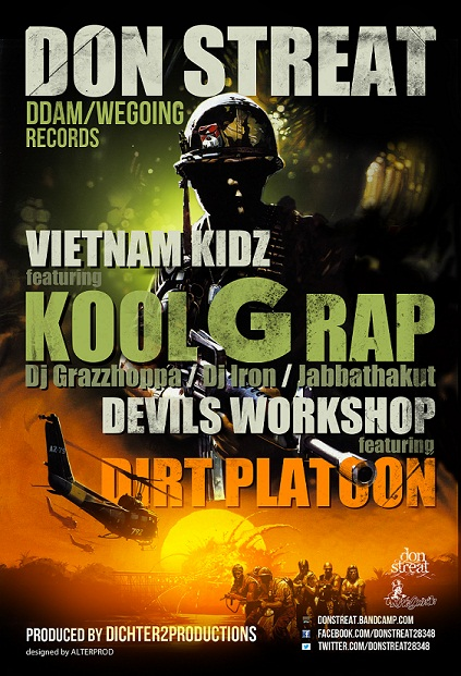 Don Streat - Vietnam Kidz ft. Kool G Rap, Dj Iron, Dj Grazzhoppa, Jabbathaku [Audio]