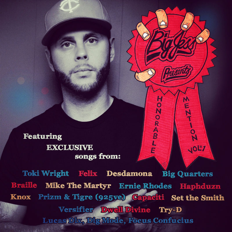"""Big Jess Presents: """"Honorable Mention Volume 1"""" (w/ Toki Wright, Braille + More)"""