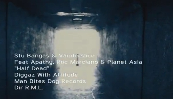 "Diggaz With Attitude ""Half Dead"" feat Apathy, Roc Marciano & Planet Asia [video]"