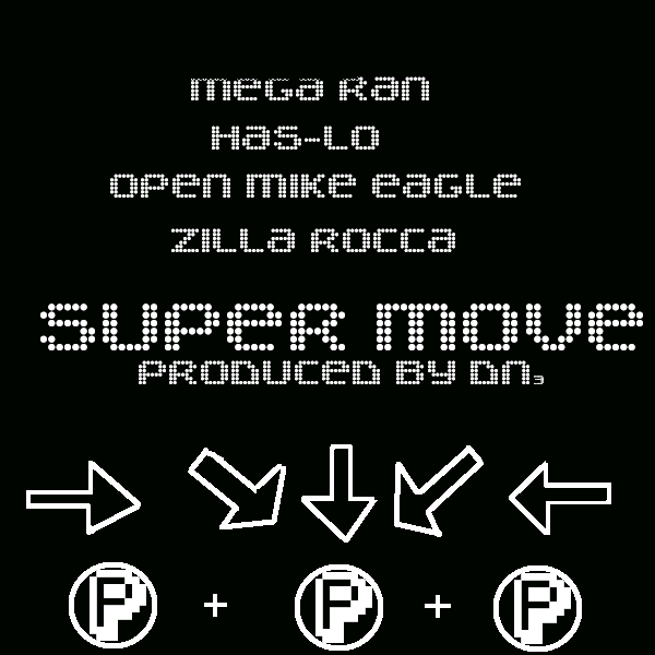 Mega Ran - Super Move ft. Has-Lo, Open Mike Eagle & Zilla Rocca [audio]