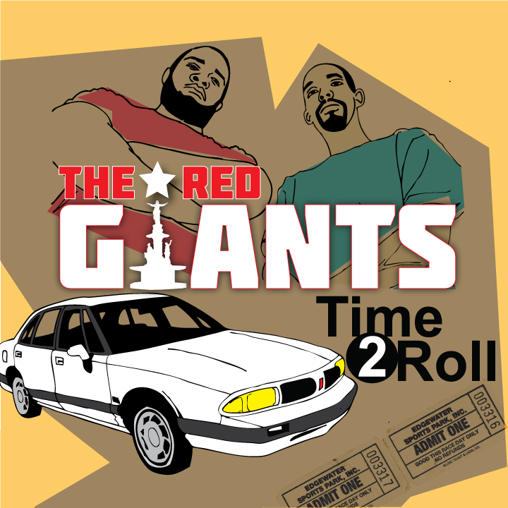 """The Red Giants (Jermiside & Brickbeats) """"Time 2 Roll"""" [mp3]"""