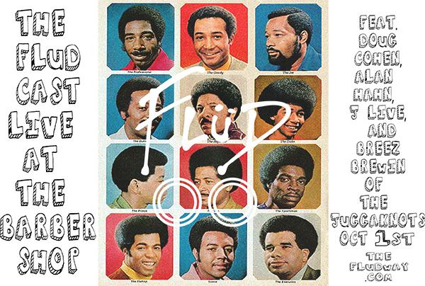 "FLuD Presents - FLuDCast ""Live at the Barbershop"" ft. J-Live, Breez Brewin, and Alan Hahn (NY Knicks Studio Analyst)"