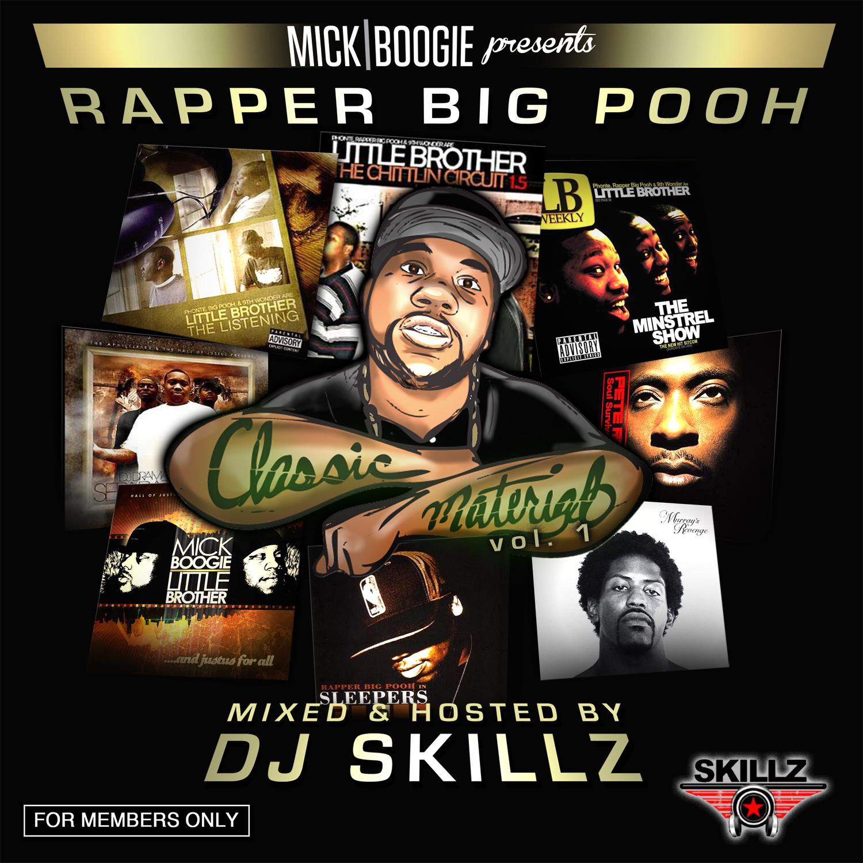 Rapper Big Pooh - Classic Material Volume 1