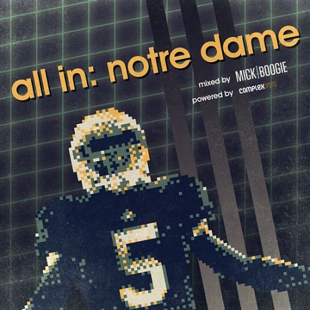 """Mick Boogie x adidas – """"All In: Notre Dame"""" [mixtape]"""