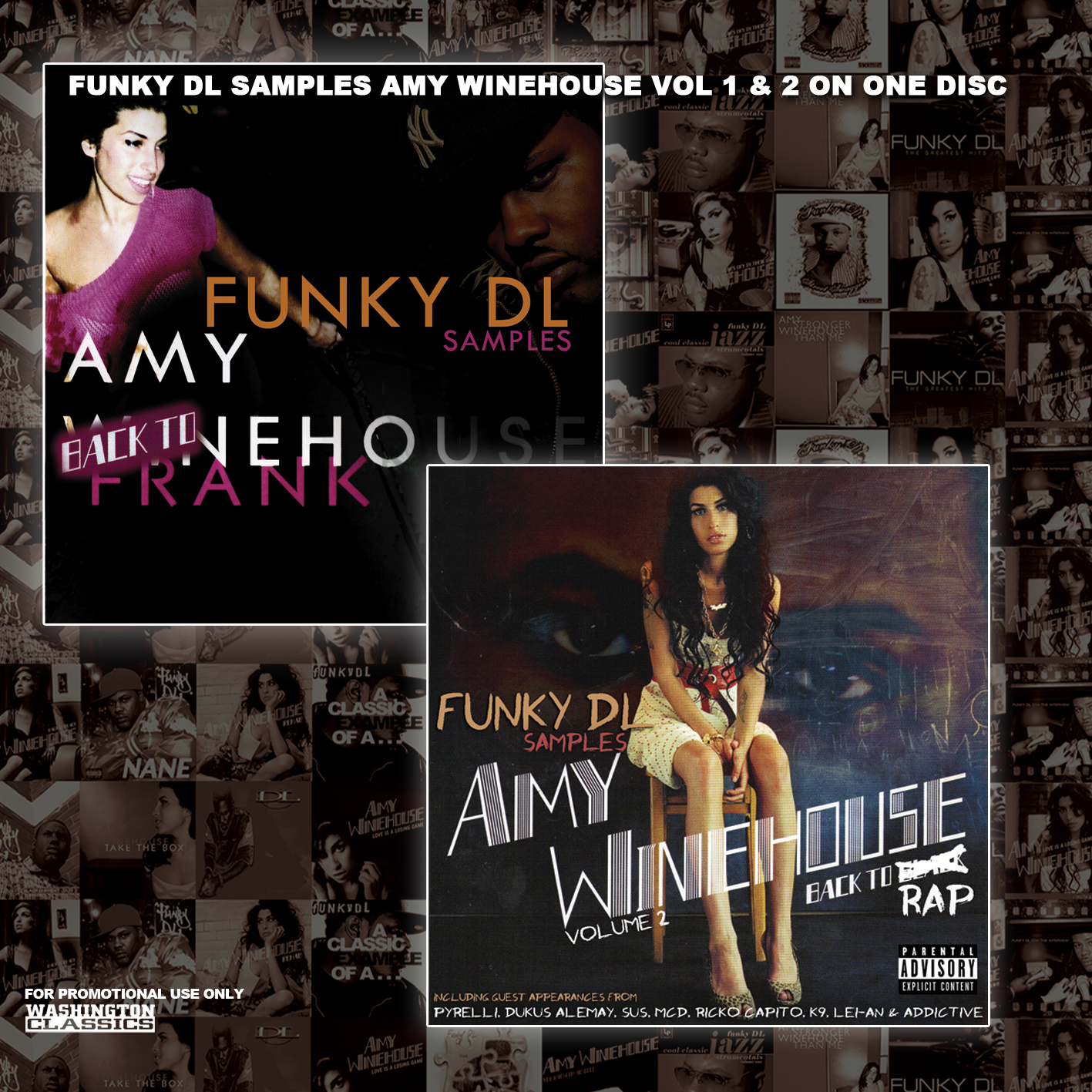 Funky DL - Back To Frank & Back To Rap (Funky DL Samples Amy Winehouse Volumes 1 & 2)