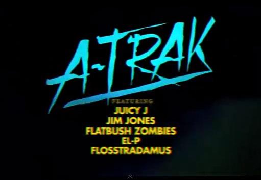 """A-Trak """"Piss Test"""" ft. Juicy J, Jim Jones, Flatbush Zombies, El-P & Flosstradamus [video]"""