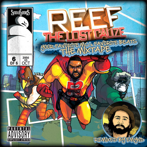 Reef The Lost Cauze & Emynd - My Favorite MC's Favorite Beats The Mixtape