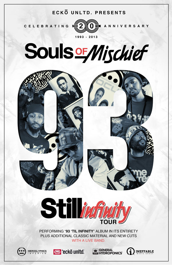Souls of Mischief Announce 20th Anniversary Tour: Infinity Tour